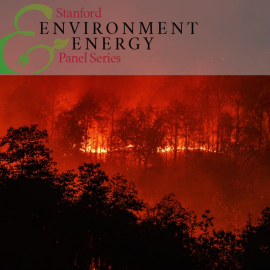 Stanford Environment and Energy Panel Series; wildfire