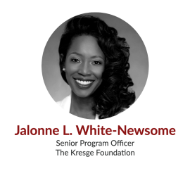 Jalonne L. White-Newsome; Senior Program Officer, The Kresge Foundation