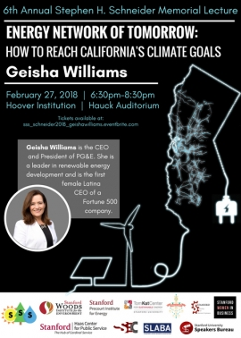 Williams Lecture Flyer